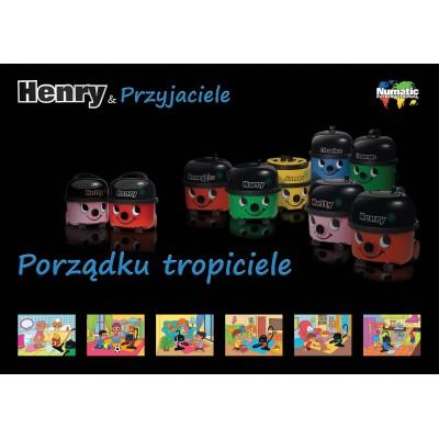 Zabawkowy mop z wiadrem Henry