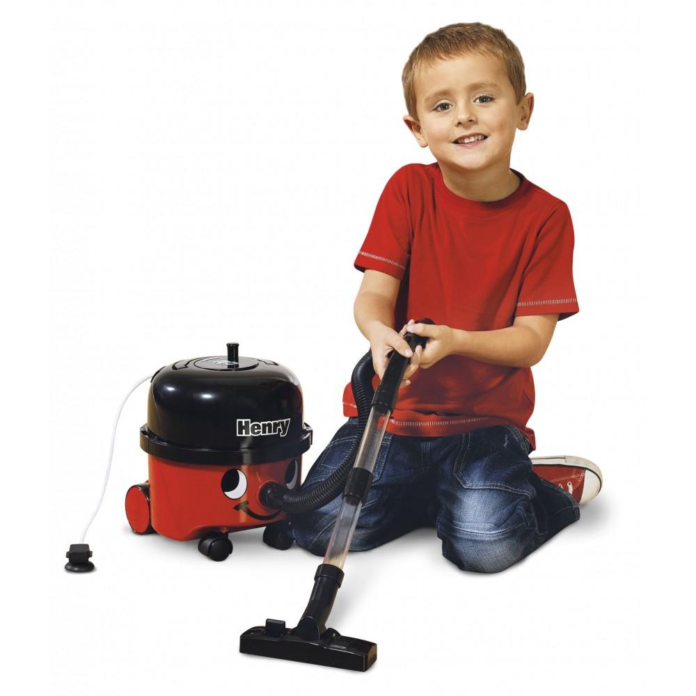 Zabawkowy odkurzacz Henry