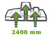 duża siła ssania odkurzacz piorący GVE 470 Numatic